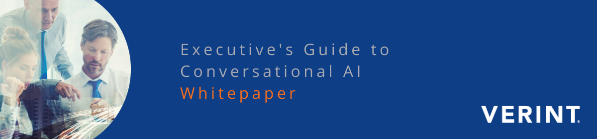 WHITEPAPER: Executive's Guide to Conversational AI