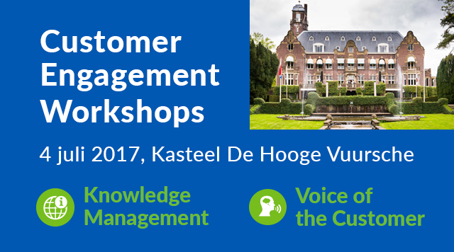 Customer Engagement Workshops 4 juli 2017